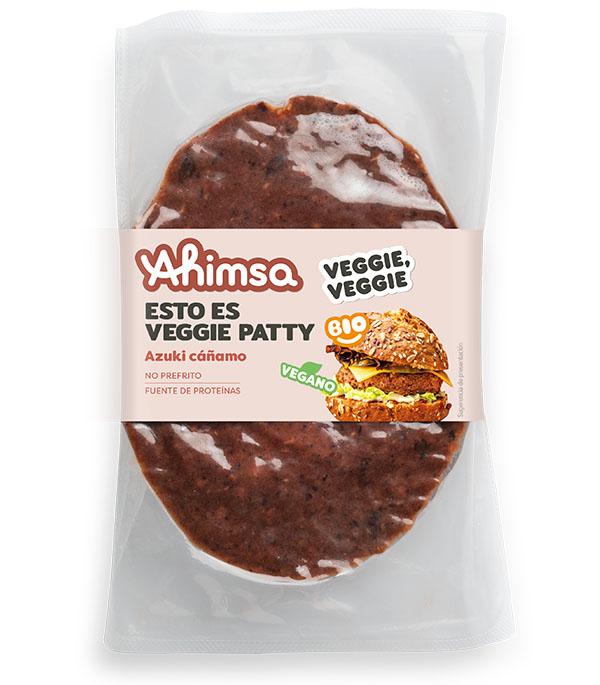 veggie patty azuki